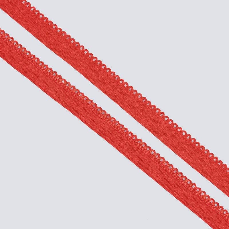 """Резинка TBY бельевая (ажурная) 10 мм """"Красный"""""""